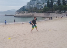 Beach training @ Repulse Bay, HK