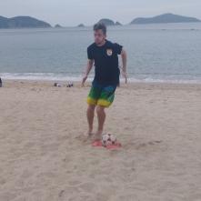 Beach training @ Repulse Bay, HK